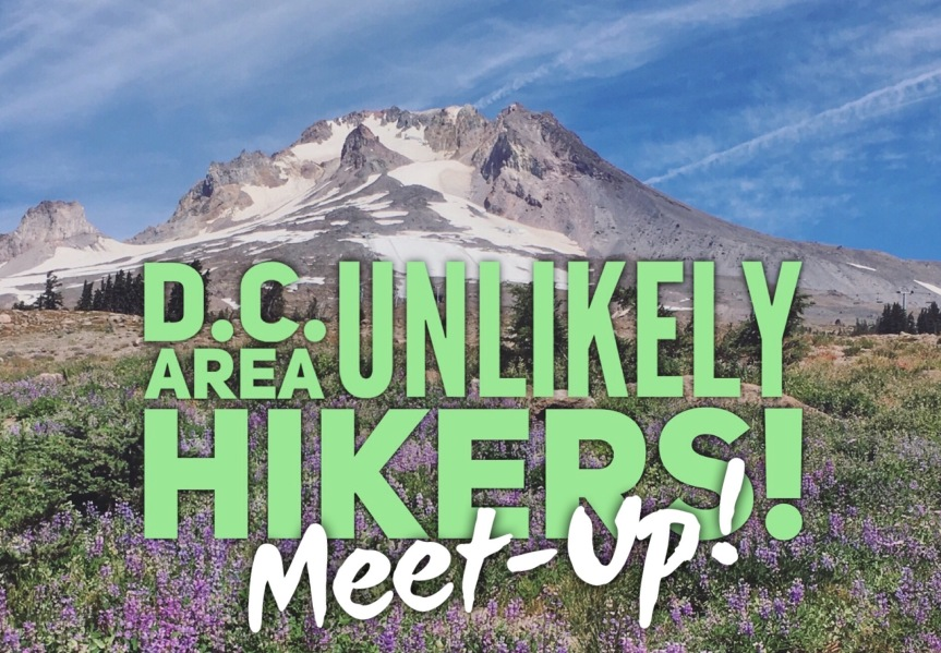 Unlikely Hikers in D.C.! October 7, 2017!