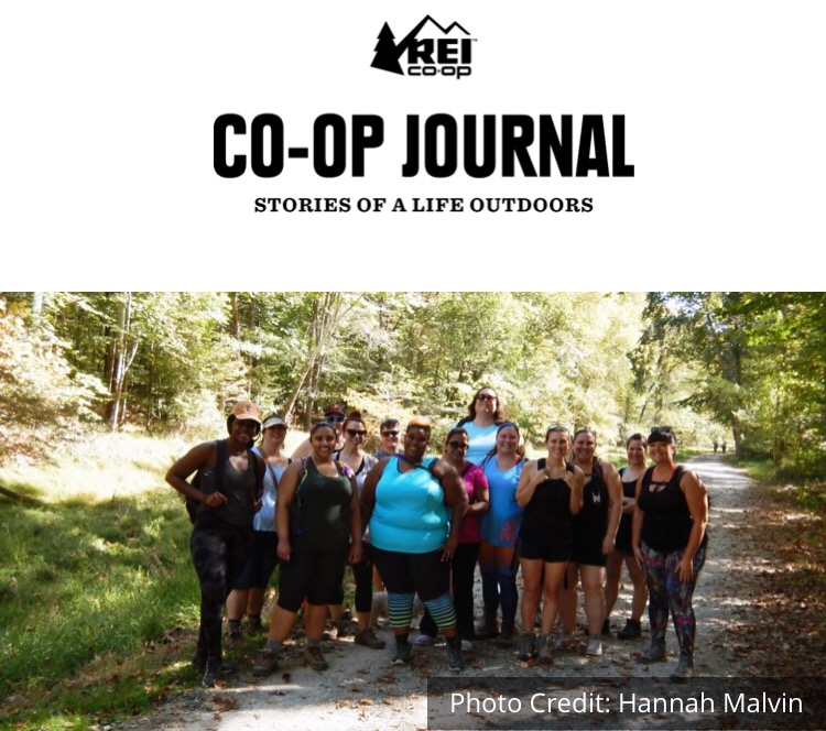 REI Co-Op Blog: Building Community Through Group Hiking