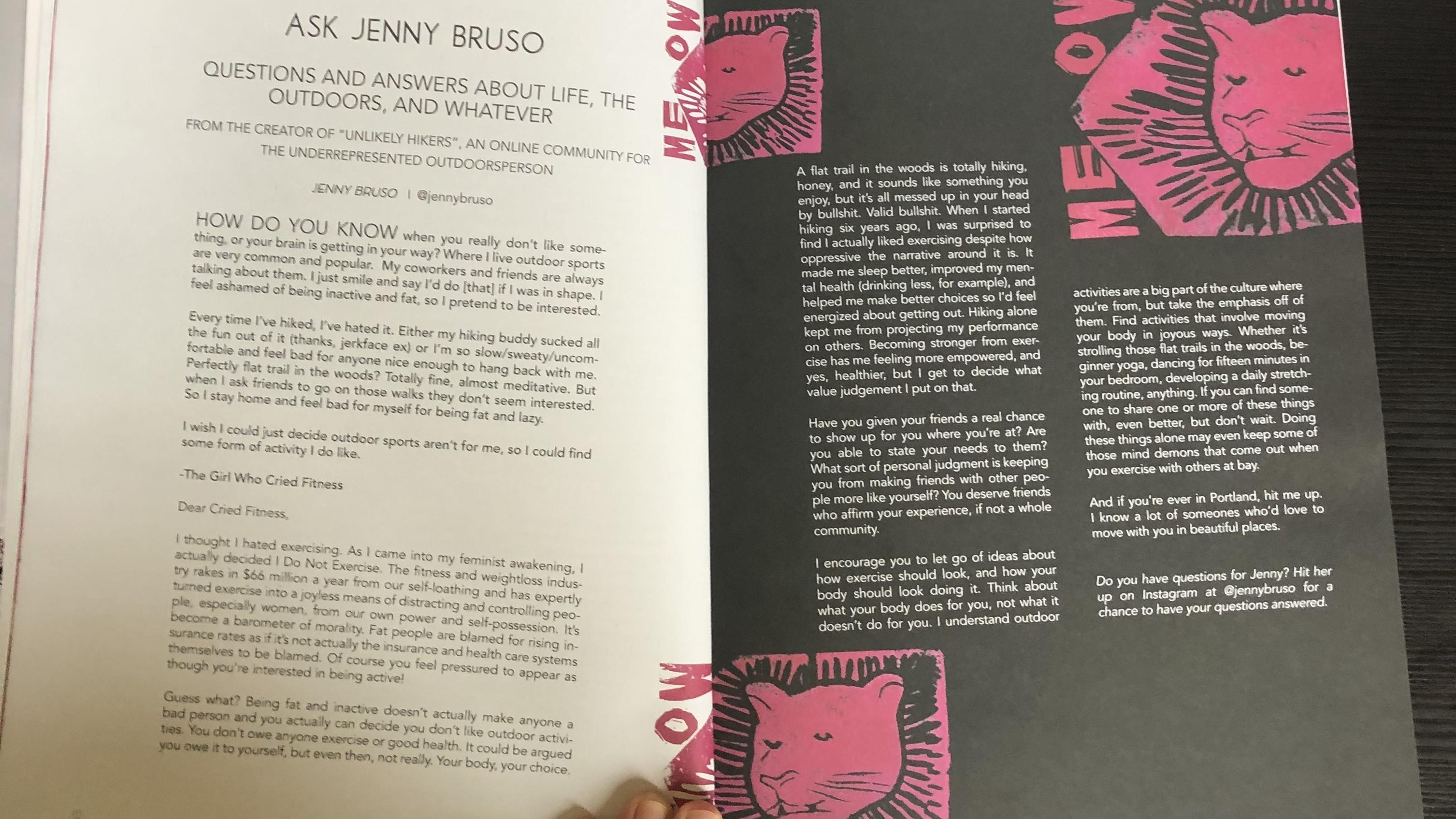 Ask Jenny Bruso #1 – Jenny Bruso